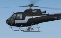 Screenshot of Eagle Helicopter Aerospatiale AS350 in flight.