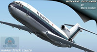 Screenshot of Eastern Airlines Boeing 727-200 in flight.
