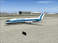 Screenshot of Eastern Airlines Douglas DC-9-30 on the ground.