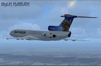 "Screenshot of ""Ed Force One"" in flight."