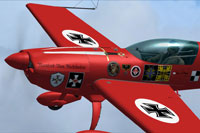 Screenshot of Extra300S The Red Baron in flight.