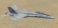 Screenshot of F-18C's flying over desert terrain.
