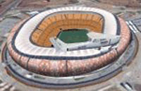 Screenshot of FNB Soccere Stadium Johannesburg.