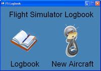 Screenshot of the FS Logbook main screen.