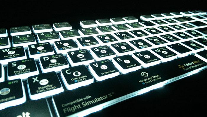 Keyboard backlighting
