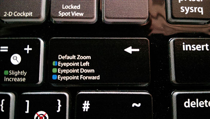 Using an intelligent legend, they can get four functions on one key.