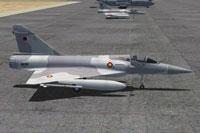 Screenshot of Fernando Martines Mirage 2000 on the ground.