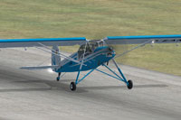 Screenshot of Fieseler Storch Fi 156 on runway.