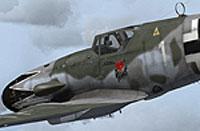 Screenshot of BF109-k4 in flight.