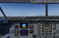 Screenshot of Fokker 60 new standard panel.