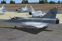 Screenshot of Frank Safranek AI Mirage 2000 on the ground.