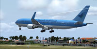 Screenshot of Garuda Indonesia Boeing 767-304/ER.