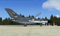 Screenshot of German Navy Tornado MFG2 on the ground.