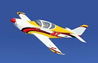 Screenshot of Glasair III ''Luckymojo'' in flight.