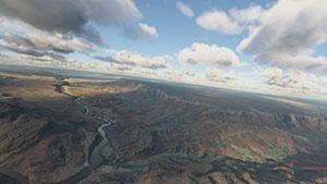 Grand Canyon scenery demonstration.