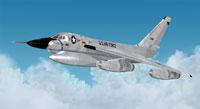 """Screenshot of """"Greased Lightning"""" in flight."""