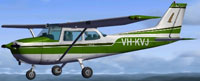 Screenshot of Australia's Cessna C172 in flight.