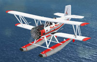 Screenshot of Grumman G-164 AgCat B/600 on floats.