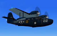 Screenshot of Grumman G-21 Goose N022 in flight.