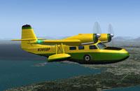 Screenshot of G-44 Widgeon in flight.