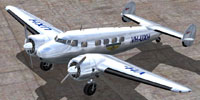 Screenshot of Guinea Airways Lockheed Electra L10A on the ground.