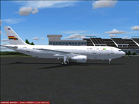 Screenshot of Guyana Air 2000 Airbus A300-620 on the ground.