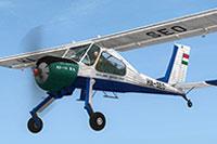 Screenshot of Gyongyosi Aero Club HA-SEO in flight.