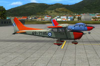Screenshot of HAF Cessna 172 on the ground.