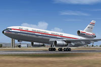 Screenshot of HD-AI DC-10-30 on runway.