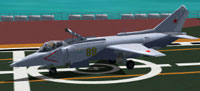 Screenshot of HT Yak 38 on the ground.