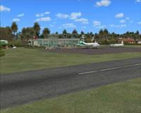Screenshot of Ha'apai Lifuka Airport scenery.