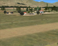Screenshot of Hanmer Springs Airfield.