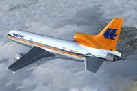 Screenshot of Hapag-Lloyd Lockheed L-1011 TriStar in flight.