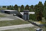 Screenshot of Hetzleser Berg Airfield scenery.