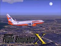 Splash Screen showing Hooters jetliner in flight.