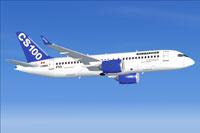 Screenshot of Bombardier FTV5 in flight.