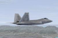 Screenshot of IRIS Raptor Driver 199FS in flight.