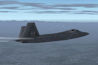 Screenshot of IRIS Raptor Driver 3rd Wing Flagship in flight.