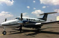 Photo of Beech King Air B200.
