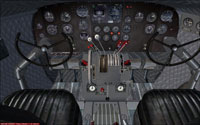 Screenshot of the new interior for the DC-3 and C-47.