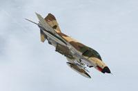 Screenshot of Iran Air Force (IRIAF) F 4E Phantom II in flight.