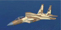 Screenshot of Iris F-15 C in desert camo.