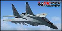 Screenshot of Iris MiG-29 Fulcrum in flight.