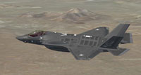 "Screenshot of 140Sqn ""Golden Eagle"" F-35I in flight."