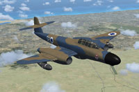 Screenshot of Israeli Meteor NF11 in flight.