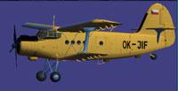 Screenshot of Jas Air Antonov An-2 in the air.