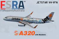 Screenshot of Jetstar Airways Airbus A320.