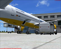 Screenshot of Posky''s B757-200 on the ground.