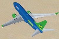 Screenshot of Journey Air And Hotel Boeing 737-700.