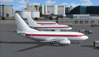 Screenshot of planes on the ground by Janet Terminal.